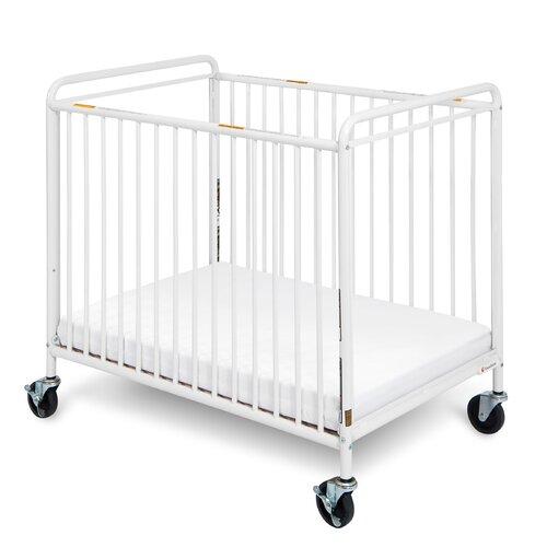 Chelsea Euro Clear Choice Mini Non-folding Crib