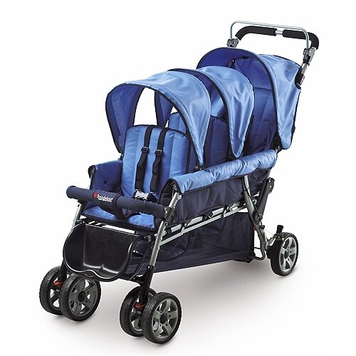 Foundations Trio Triple Tandem Stroller