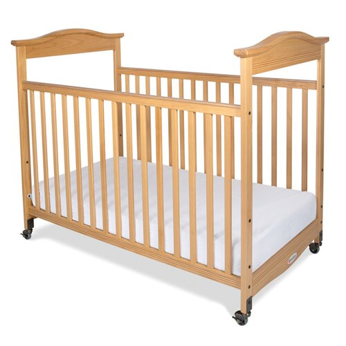 Biltmore Safereach Fixed Side Clearview Compact Crib