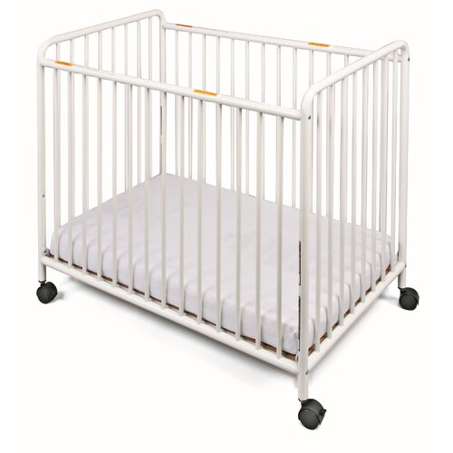Chelsea Compact Steel Non-Folding Crib