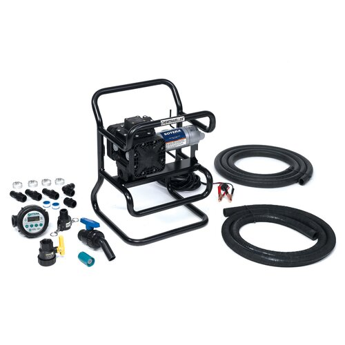 Series 400B Dual Diaphragm Chemical Transfer Pump with 12V DC Diaphragm Syltone Chemtraveller ...