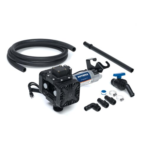 Series 400B Dual Diaphragm Chemical Transfer Pump with 115V AC Diaphragm Pump