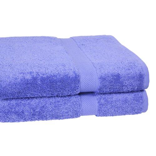 Calcot Ltd. 100% Supima Cotton 2-Piece Oversized Bath Sheet/Towel Set