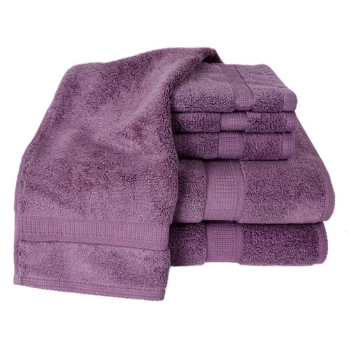 Calcot Ltd. 100% Supima Zero-Twist Cotton 6-Piece Towel Set