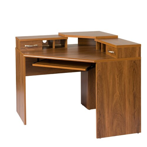 OS Home Office Furniture Office Adaptations Corner Computer Desk With M