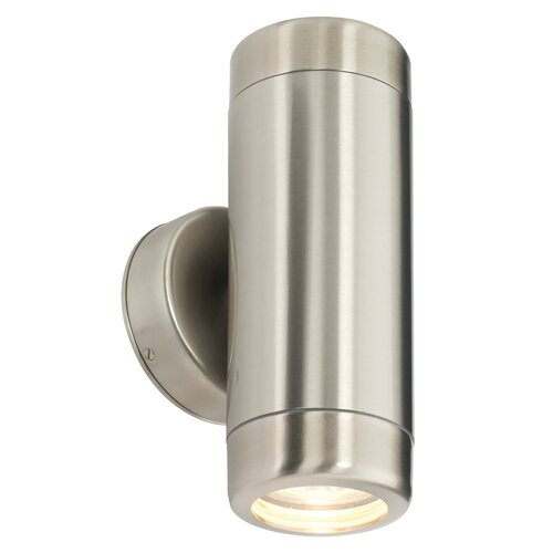 Saxby Lighting Atlantis Outdoor 2 Light Semi-Flush Wall Light