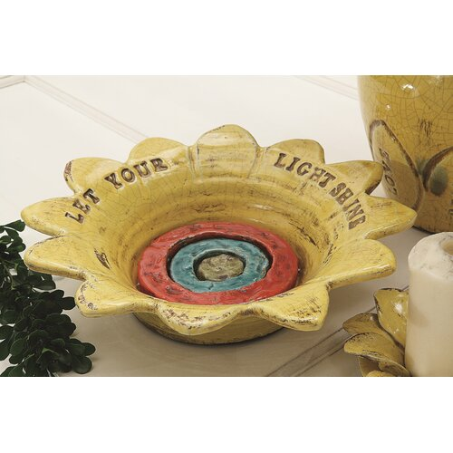 Inspirational Decorative Terra Cotta Flower Bowl
