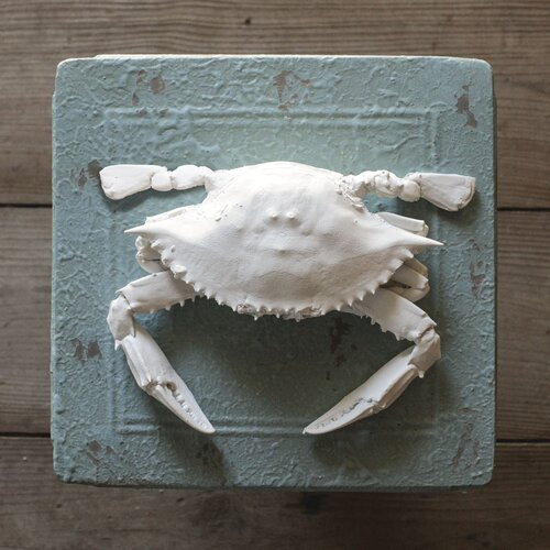 Creative Co-Op Seaside Crab Decoration