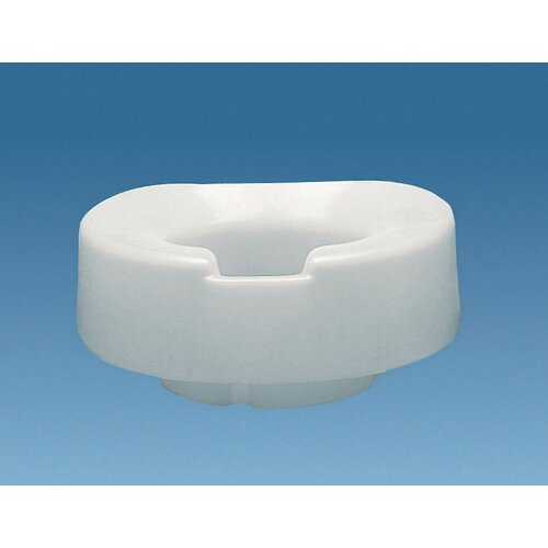 "Ableware Tall-Ette Contoured 4"" Elevated Toilet Seat"