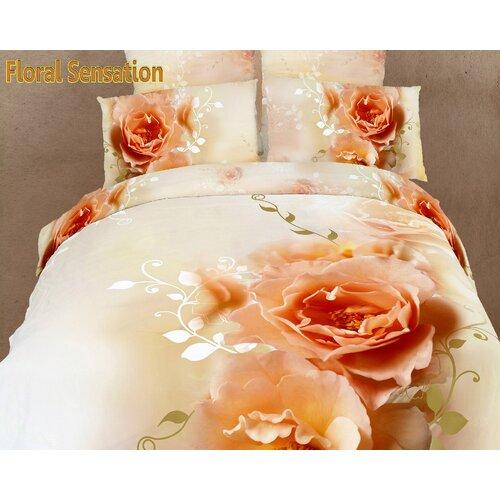 Dolce Mela Dolce Mela Floral Sensation 6 Piece Duvet Cover Set