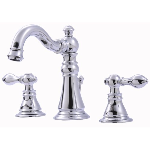 Ultra Faucets Widespread Bathroom Faucet with Double Handles