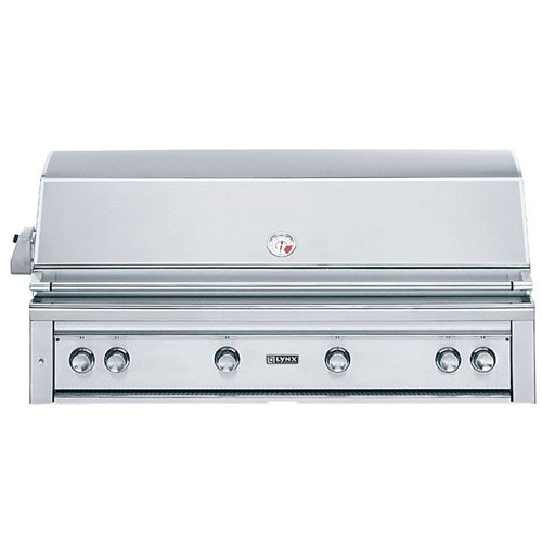 """Lynx 54"""" Built-In Gas Grill with ProSear2 - Rotisserie Burner"""