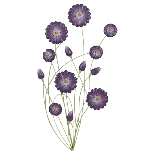 Firefly Home Collection Flowers Wall Décor