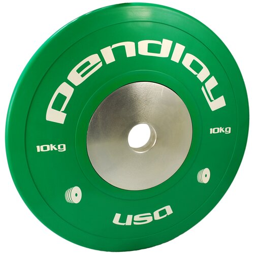 10kg Elite Color Bumper Plates (Set of 2)