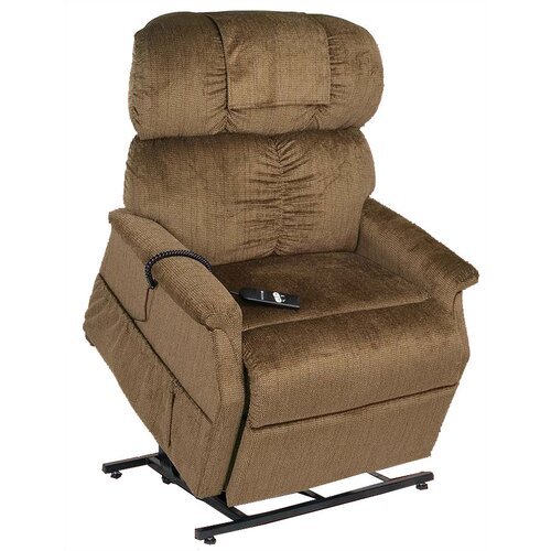 PR-501M-26D Comforter Extra Wide Medium-26 Dual Motor Lift Chair - with Head Pillow