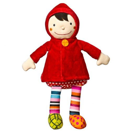 Crazy Cuddy Wolf - Little Red Riding Hood Doll