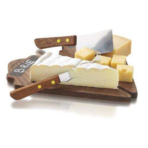 4 Piece Cheese Dessert Set