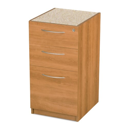 Bestar Embassy 3-Drawer Pedestal