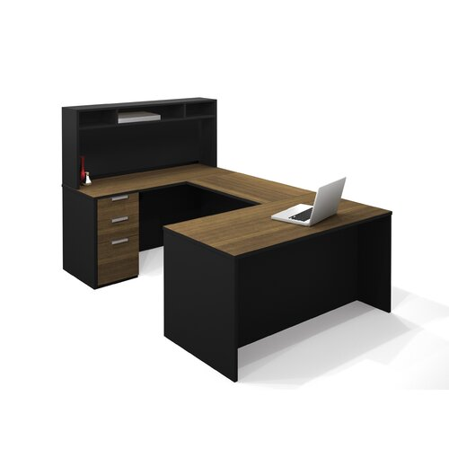 Bestar Pro-Concept U-Shape Desk Office Suite