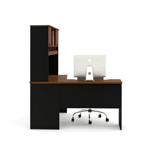 Bestar Innova L-Shaped Executive Desk Office Suite