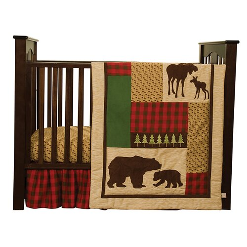Northwood's 3 Piece Crib Bedding Set