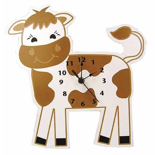 Baby Barnyard Cow Wall Clock