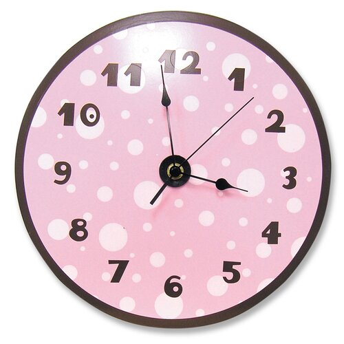 "Trend Lab 11"" Polka Dots Wall Clock"