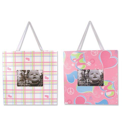 Trend Lab Groovy Love Picture Frame (Set of 2)
