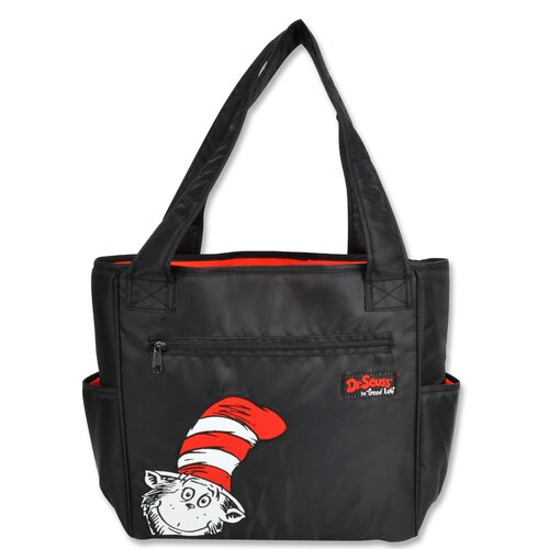 Dr Seuss Cat in the Hat Tulip Tote Diaper Bag