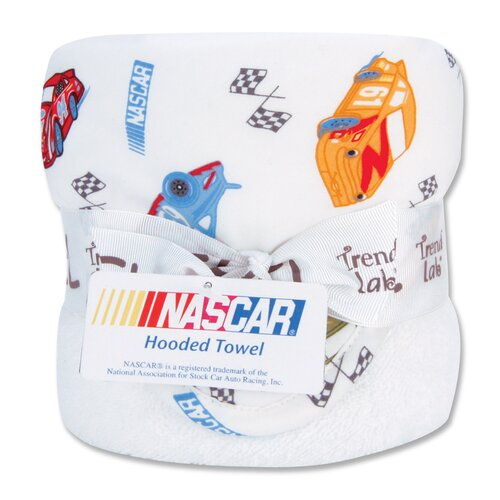 Trend Lab NASCAR Bouquet Hooded Towel