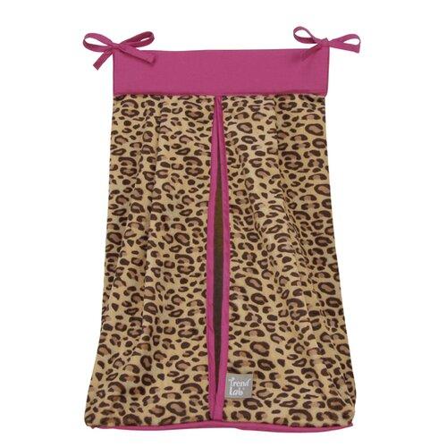 Berry Leopard Diaper Stacker