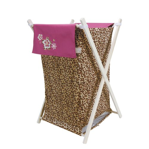 Trend Lab Berry Leopard Hamper
