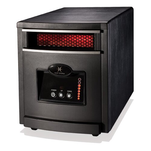Heat Storm 1,000 Watt Infrared Cabinet Mojave Indoor Space Heater