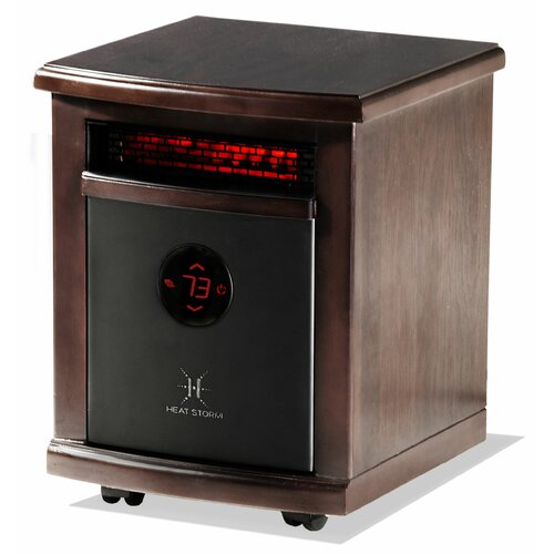 Heat Storm 1,500 Watt Infrared Cabinet Logan Space Heater