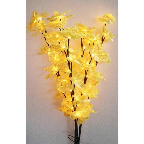 3 Piece 48 Light Branch Orchid Blossom Tree Light