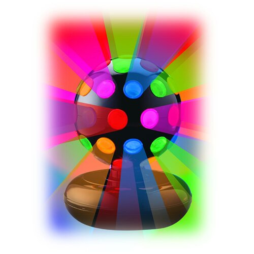 Creative Motion Rotating Disco Ball Light Table Lamp