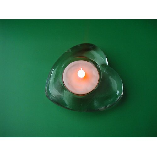 Creative Motion Heart 1 Light LED Candle