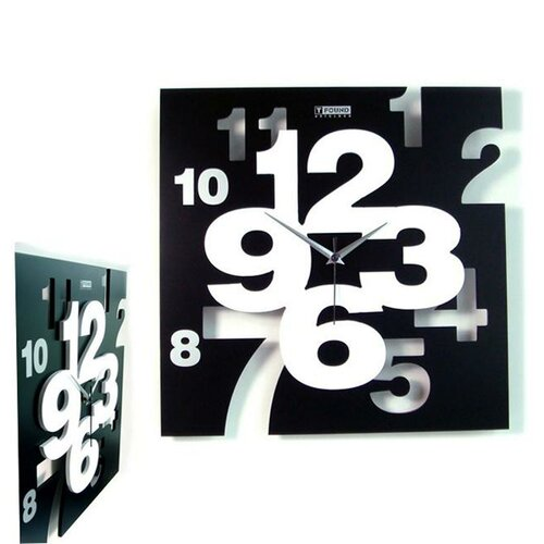 "Creative Motion 15.35"" Artistic Wall Clock"