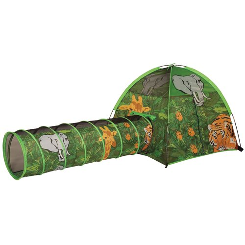 Pacific Play Tents African Adventure Tent and Tunnel Set