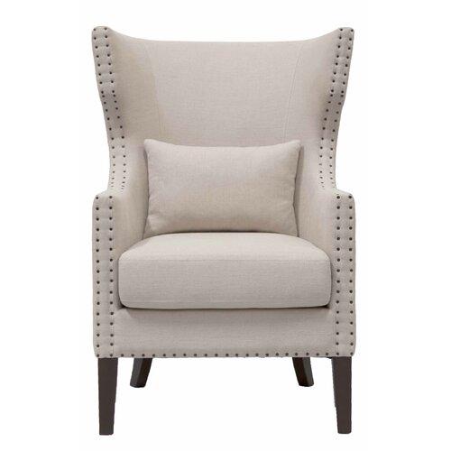 Villa Berkley Wing Back Club Chair
