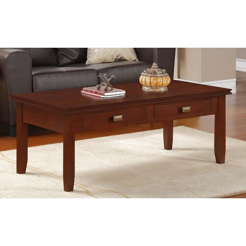 Simpli Home Artisan Coffee Table Reviews Wayfair
