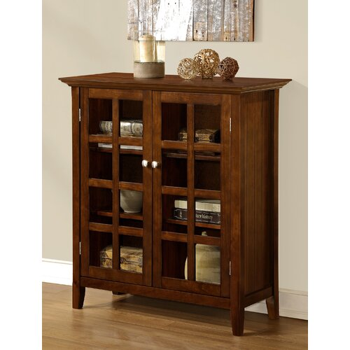 Simpli Home Acadian Accent Storage Cabinet