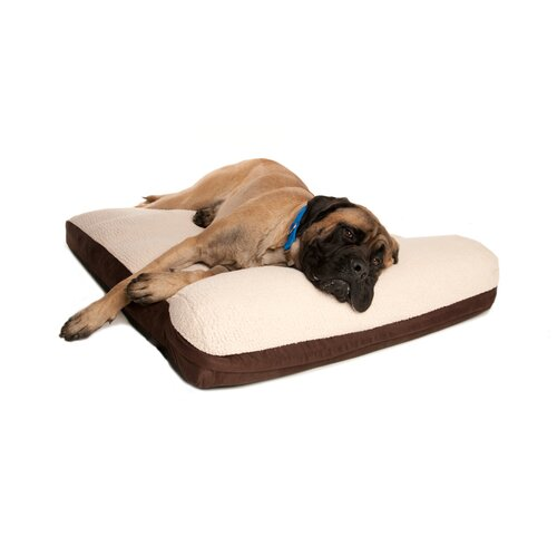 Serenity Memory Foam Bolster Dog Bed