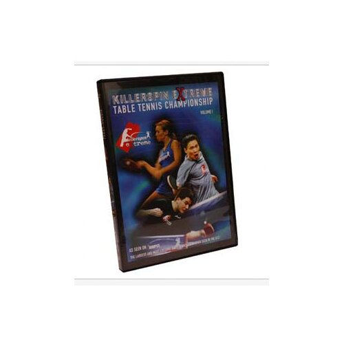 Killerspin 2003 Extreme Table Tennis Championships DVD Vol.1
