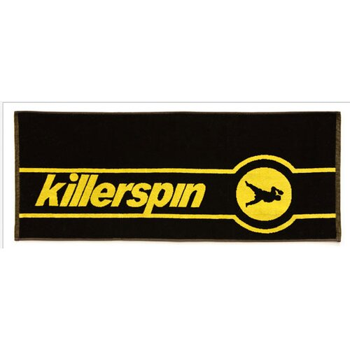 Killerspin Table Tennis Tournament Towel in Black