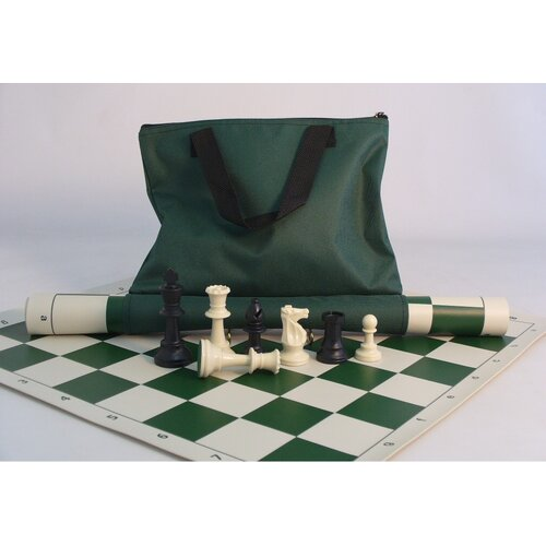 CN Chess Tournament Set with Green Tote