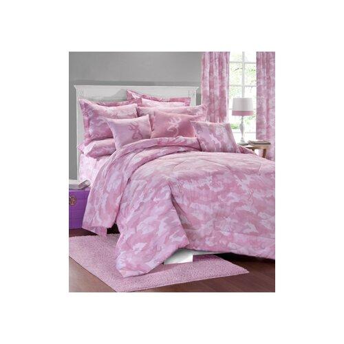Browning Buckmark Camo 3 Piece Comforter Set