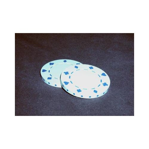 Play All Day Games 0.03 lb Poker Chips in White