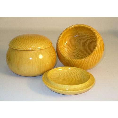 Shink Wang Spruce Wood Go Bowls