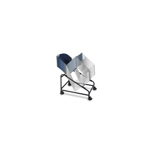 KFI Seating Compact Stacking Chair with Chrome Frame